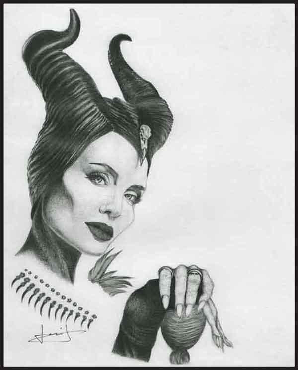 Angelina Jolie par portraitemoi